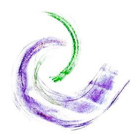 Logo: Zwei ineinander greifende Wellen