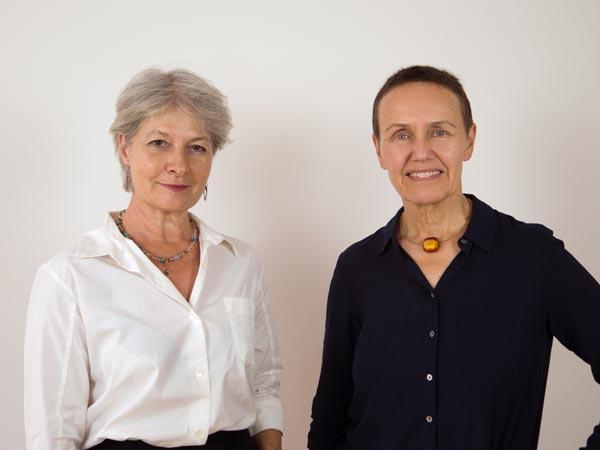 Foto von Katharina Liebenberger und Annemarie Schallhart